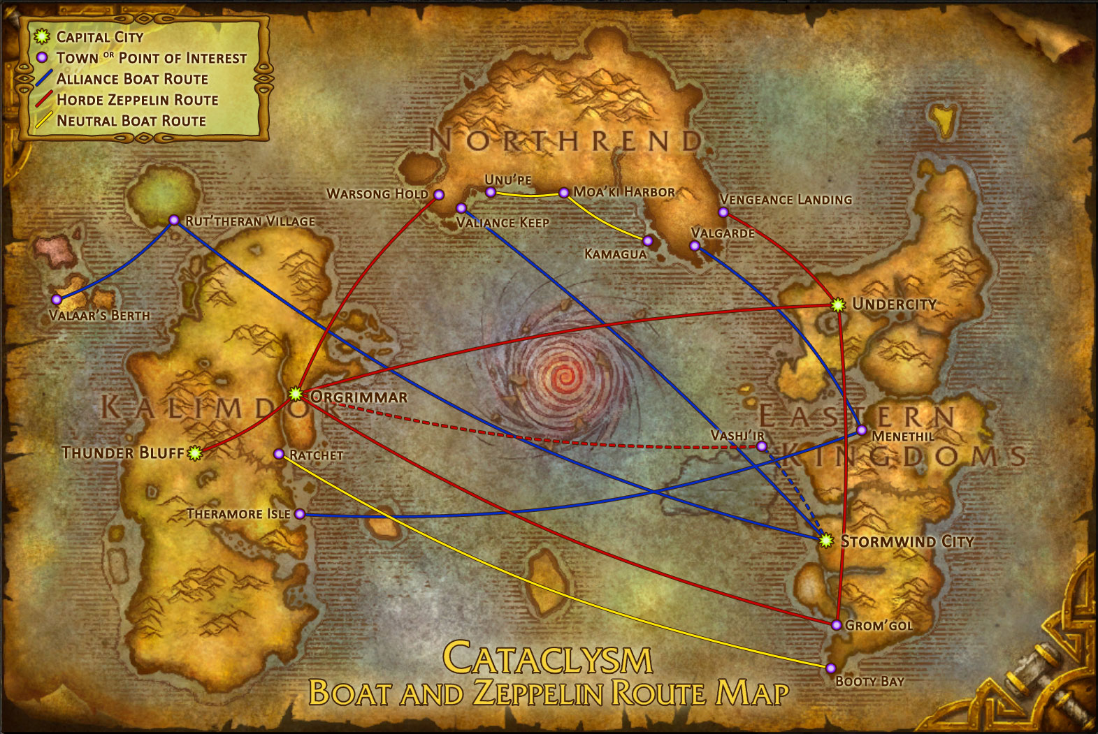 World of Warcraft Intrinsic Motivation and Travel