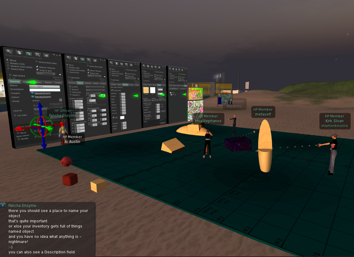 Second Life Building Tutorial